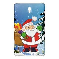 Funny Santa Claus In The Forrest Samsung Galaxy Tab S (8 4 ) Hardshell Case