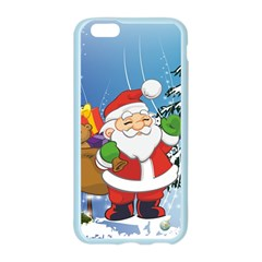 Funny Santa Claus In The Forrest Apple Seamless iPhone 6/6S Case (Color)