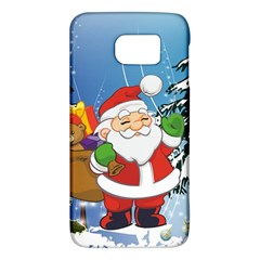 Funny Santa Claus In The Forrest Galaxy S6