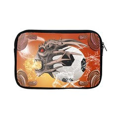 Soccer With Skull And Fire And Water Splash Apple iPad Mini Zipper Cases