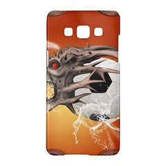 Soccer With Skull And Fire And Water Splash Samsung Galaxy A5 Hardshell Case