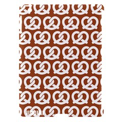 Brown Pretzel Illustrations Pattern Apple iPad 3/4 Hardshell Case (Compatible with Smart Cover)