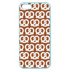 Brown Pretzel Illustrations Pattern Apple Seamless iPhone 5 Case (Color)