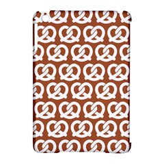 Brown Pretzel Illustrations Pattern Apple iPad Mini Hardshell Case (Compatible with Smart Cover)