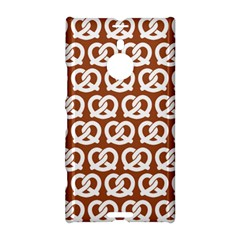 Brown Pretzel Illustrations Pattern Nokia Lumia 1520