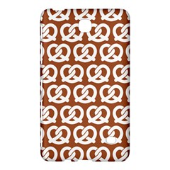 Brown Pretzel Illustrations Pattern Samsung Galaxy Tab 4 (8 ) Hardshell Case