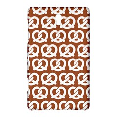 Brown Pretzel Illustrations Pattern Samsung Galaxy Tab S (8.4 ) Hardshell Case