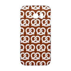 Brown Pretzel Illustrations Pattern Galaxy S6 Edge
