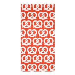 Coral Pretzel Illustrations Pattern Shower Curtain 36  X 72  (stall)