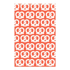 Coral Pretzel Illustrations Pattern Shower Curtain 48  X 72  (small)