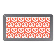 Coral Pretzel Illustrations Pattern Memory Card Reader (mini)
