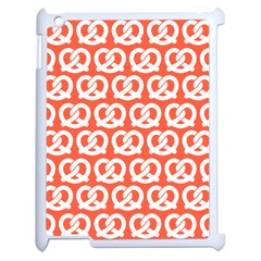 Coral Pretzel Illustrations Pattern Apple iPad 2 Case (White)