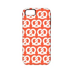 Coral Pretzel Illustrations Pattern Apple iPhone 5 Classic Hardshell Case (PC+Silicone)