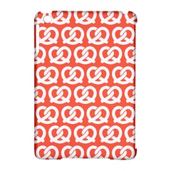 Coral Pretzel Illustrations Pattern Apple iPad Mini Hardshell Case (Compatible with Smart Cover)