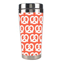 Coral Pretzel Illustrations Pattern Stainless Steel Travel Tumblers
