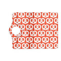 Coral Pretzel Illustrations Pattern Kindle Fire HD (2013) Flip 360 Case