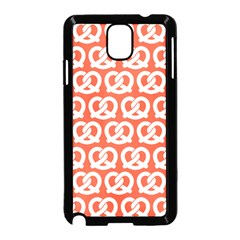 Coral Pretzel Illustrations Pattern Samsung Galaxy Note 3 Neo Hardshell Case (black)