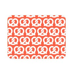 Coral Pretzel Illustrations Pattern Double Sided Flano Blanket (Mini)