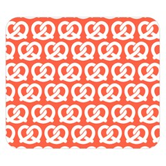 Coral Pretzel Illustrations Pattern Double Sided Flano Blanket (Small)