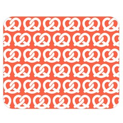 Coral Pretzel Illustrations Pattern Double Sided Flano Blanket (medium)