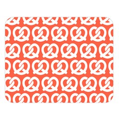 Coral Pretzel Illustrations Pattern Double Sided Flano Blanket (large)
