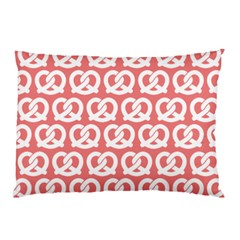 Chic Pretzel Illustrations Pattern Pillow Cases