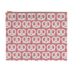 Chic Pretzel Illustrations Pattern Cosmetic Bag (XL)