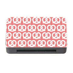 Chic Pretzel Illustrations Pattern Memory Card Reader with CF