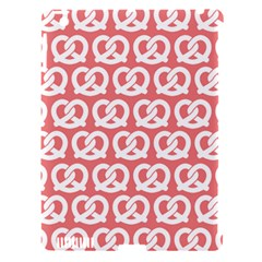 Chic Pretzel Illustrations Pattern Apple iPad 3/4 Hardshell Case (Compatible with Smart Cover)