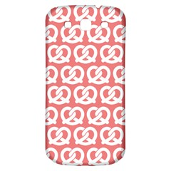 Chic Pretzel Illustrations Pattern Samsung Galaxy S3 S III Classic Hardshell Back Case
