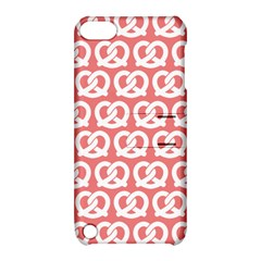 Chic Pretzel Illustrations Pattern Apple iPod Touch 5 Hardshell Case with Stand