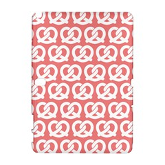 Chic Pretzel Illustrations Pattern Samsung Galaxy Note 10 1 (p600) Hardshell Case