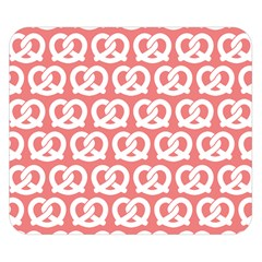 Chic Pretzel Illustrations Pattern Double Sided Flano Blanket (Small)