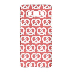 Chic Pretzel Illustrations Pattern Samsung Galaxy A5 Hardshell Case