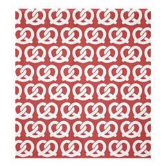 Trendy Pretzel Illustrations Pattern Shower Curtain 66  x 72  (Large)