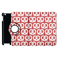 Trendy Pretzel Illustrations Pattern Apple Ipad 3/4 Flip 360 Case