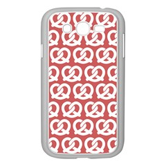 Trendy Pretzel Illustrations Pattern Samsung Galaxy Grand DUOS I9082 Case (White)