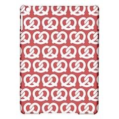 Trendy Pretzel Illustrations Pattern iPad Air Hardshell Cases
