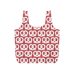 Trendy Pretzel Illustrations Pattern Full Print Recycle Bags (S)