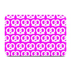 Pink Pretzel Illustrations Pattern Plate Mats