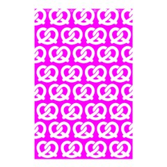 Pink Pretzel Illustrations Pattern Shower Curtain 48  X 72  (small)
