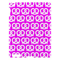 Pink Pretzel Illustrations Pattern Apple iPad 3/4 Hardshell Case