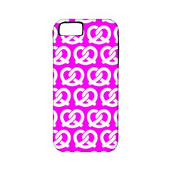 Pink Pretzel Illustrations Pattern Apple iPhone 5 Classic Hardshell Case (PC+Silicone)