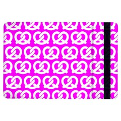 Pink Pretzel Illustrations Pattern iPad Air Flip