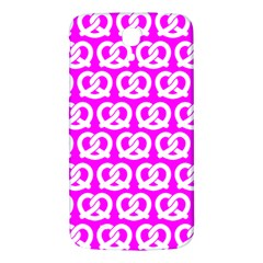 Pink Pretzel Illustrations Pattern Samsung Galaxy Mega I9200 Hardshell Back Case