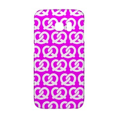 Pink Pretzel Illustrations Pattern Galaxy S6 Edge