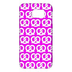 Pink Pretzel Illustrations Pattern Galaxy S6