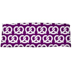 Purple Pretzel Illustrations Pattern Body Pillow Cases (Dakimakura)