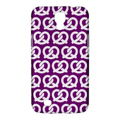 Purple Pretzel Illustrations Pattern Samsung Galaxy Mega 6.3  I9200 Hardshell Case