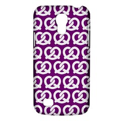 Purple Pretzel Illustrations Pattern Galaxy S4 Mini
